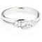 Brilliant Cut Diamond Trilogy Ring Thumbnail 1