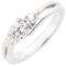 Brilliant Cut Diamond Trilogy Ring Thumbnail 3