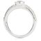 Brilliant Cut Diamond Solitaire Engagement Ring. Thumbnail 2