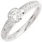 Brilliant Cut Diamond Solitaire Engagement Ring. Thumbnail 3