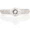 Brilliant Cut Diamond Solitaire Engagement Ring. Thumbnail 4