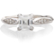 Princess Cut Diamond Solitaire with Diamond Set Shoulders Thumbnail 4