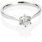 Brilliant Cut Diamond Solitaire Engagement Ring Thumbnail 1