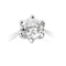 Brilliant Cut Diamond Solitaire Engagement Ring Thumbnail 3
