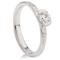 Brilliant Cut Diamond Solitaire Engagement Ring Thumbnail 2