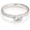 Decorative Brilliant Cut Diamond Solitaire Engagement Ring Thumbnail 1