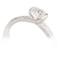 Decorative Brilliant Cut Diamond Solitaire Engagement Ring Thumbnail 2