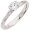 Decorative Brilliant Cut Diamond Solitaire Engagement Ring Thumbnail 3