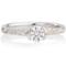Decorative Brilliant Cut Diamond Solitaire Engagement Ring Thumbnail 4