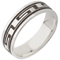 Greek Key Designed Laser Engraved Ring Thumbnail 2