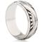Art Deco Design Laser Engraved Ring Thumbnail 1