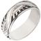 Art Deco Design Laser Engraved Ring Thumbnail 2
