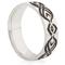Celtic Swirl Laser Engraved Ring Thumbnail 1