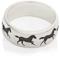 Galloping Horse Ring Laser Engraved Thumbnail 3