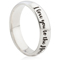 Laser Engraved Ring with I Love You To The Moon and Back Thumbnail 1