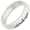 Laser Engraved Ring with I Love You To The Moon and Back Thumbnail 2