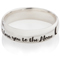 Laser Engraved Ring with I Love You To The Moon and Back Thumbnail 3