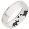 Dinosaur Designed Laser Engraved Ring Thumbnail 2