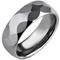 Facet Cut Court Profile Tungsten Carbide Thumbnail 2
