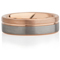 Tungsten Carbide Ring with Rose Gold IP Plating Thumbnail 4