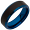 Tungsten Carbide Ring with Bevelled Edges and IP Plating Thumbnail 2