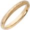 Yellow Gold Sandcast Wedding Ring Thumbnail 2