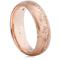 Rose Gold Decorative Wedding Ring Thumbnail 1