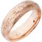 Rose Gold Decorative Wedding Ring Thumbnail 2