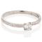 18ct White 2mm Sandcast Engagement Ring Thumbnail 3