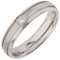 Diamond Set Steel Decorative Ring Thumbnail 2