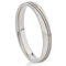 Steel Ring with Decorative Design Thumbnail 1