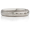 Hammered Steel Ring with Stepped Edges Thumbnail 4