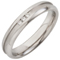 Diamond Set Steel Ring with a Central Channel Thumbnail 2
