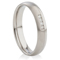 Decorative Two Tone Diamond Set Steel Ring Thumbnail 1
