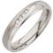 Decorative Two Tone Diamond Set Steel Ring Thumbnail 2