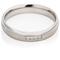 Decorative Two Tone Diamond Set Steel Ring Thumbnail 3
