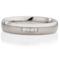 Decorative Two Tone Diamond Set Steel Ring Thumbnail 4