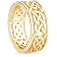 8mm Celtic Knot Ring