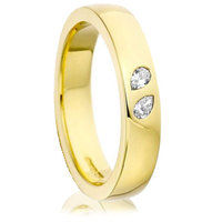 Pear Cut Diamond Set Wedding Ring