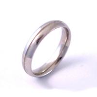 B13 finish wedding ring