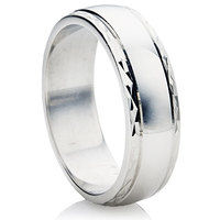 B32 finish wedding ring