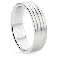 B9 Finish Wedding Ring