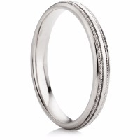 B29 finish wedding ring