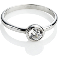 Brilliant Cut Diamond Solitaire Ring