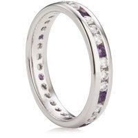 4mm Brilliant Cut Channel Full Eternity Ring