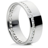 Brilliant Cut Channel Set Full Eternity Ring
