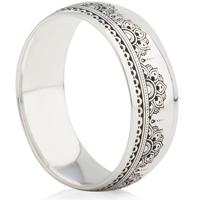 Ornate Laser Engraved Ring