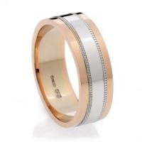 Multi Colour Wedding Ring