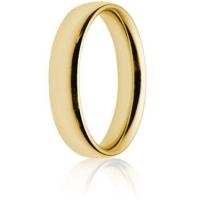 5mm Heavy Weight Gold Court Wedding Ring