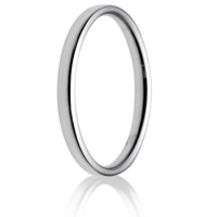 2.0mm Light Weight Court Wedding Ring